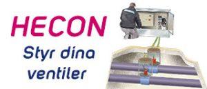 Klicka här för att läsa mer om HECON och ventilstyrning.