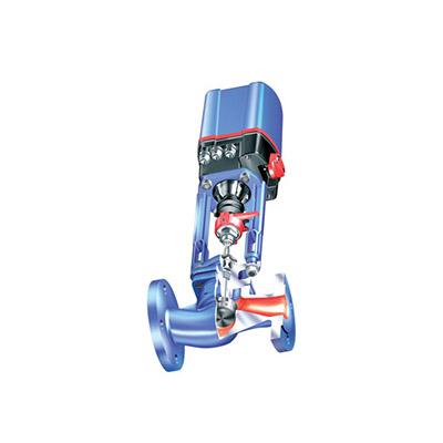 Kägelventil från ARI med Premio elektriskt manöverdon.