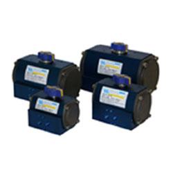 WM pneumatiskt manöverdon för 90-gradiga ventiler.